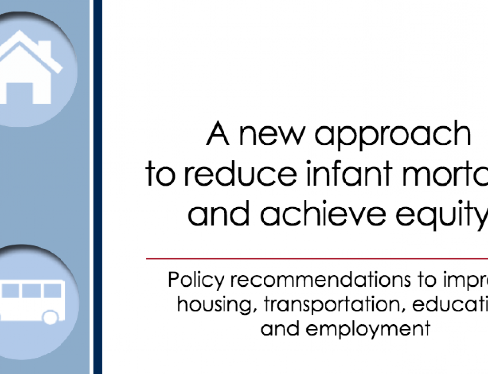 Report Recommends Housing Interventions To Reduce Infant Mortality