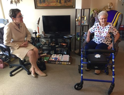 Congresswoman Kaptur Tours Westerly Apartments