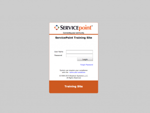 ServicePoint Training Site