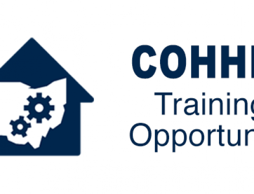 Upcoming COHHIO Webinars